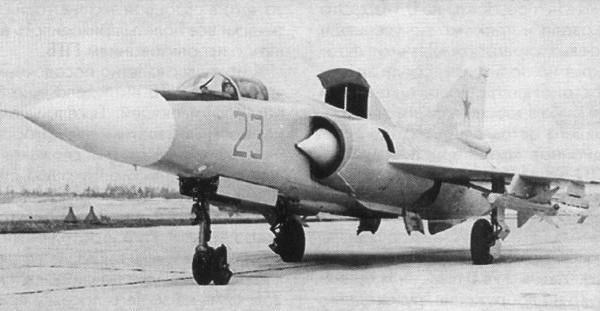2.Экспериментальный МиГ-23ПД