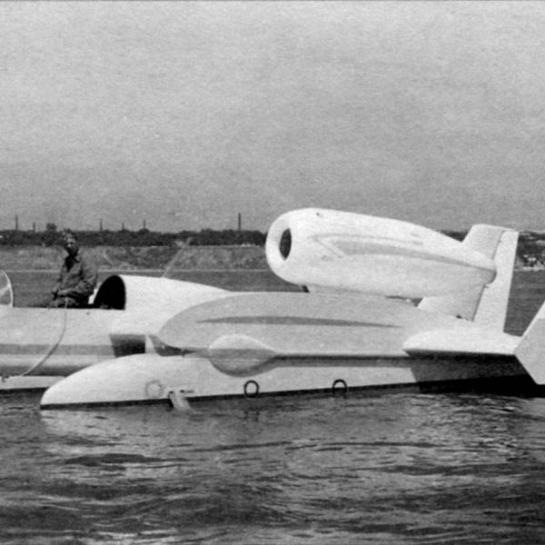 2.Экспериментальный гидролет Бе-1.