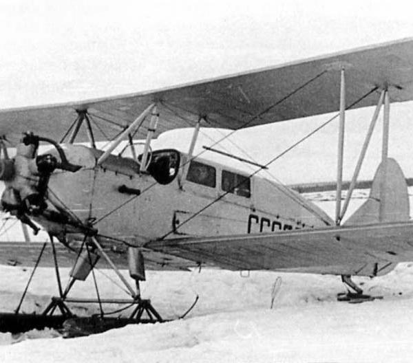 2.Легкий транспортный самолет По-2Л.