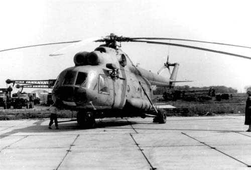 2.Ми-8Т первой серии. 1