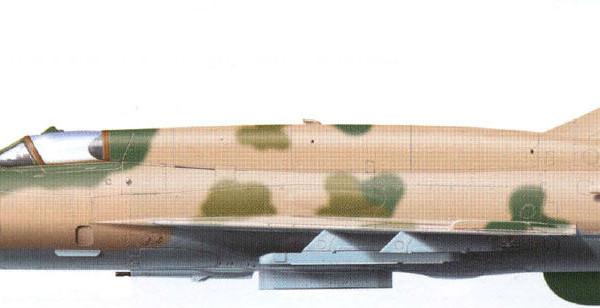 2.МиГ-21МТ. Рисунок.