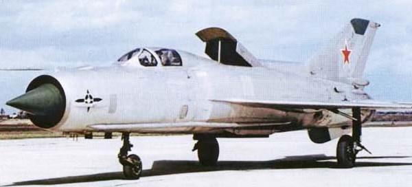 2.МиГ-21ПД (Е-7ПД)