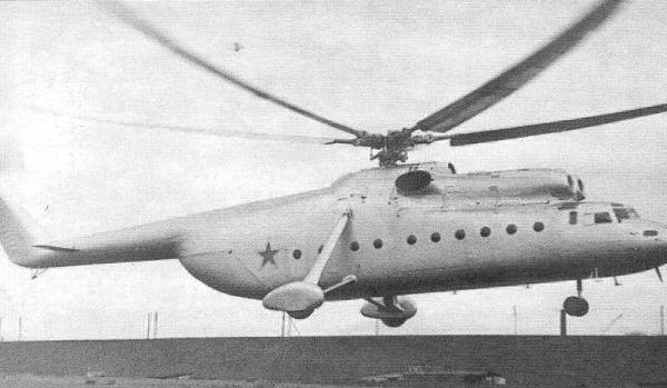 2.Один из первых полетов Ми-6. 2