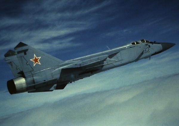 2.Опытный МиГ-31Б
