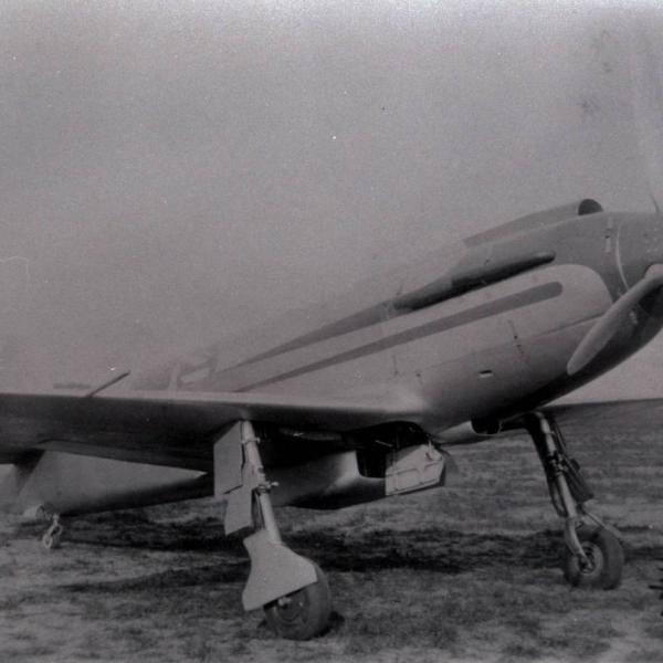 2.Самолет СК-1 СК-1 на летном поле.