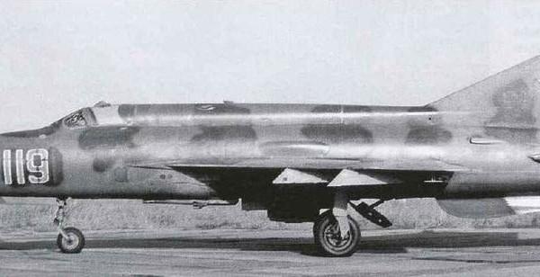 2.Серийный МиГ-21СМ.