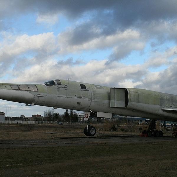 2.Ту-22М1 в Рижском музее авиации.