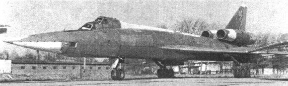 2.Ту-22У ранней серии выпуска.