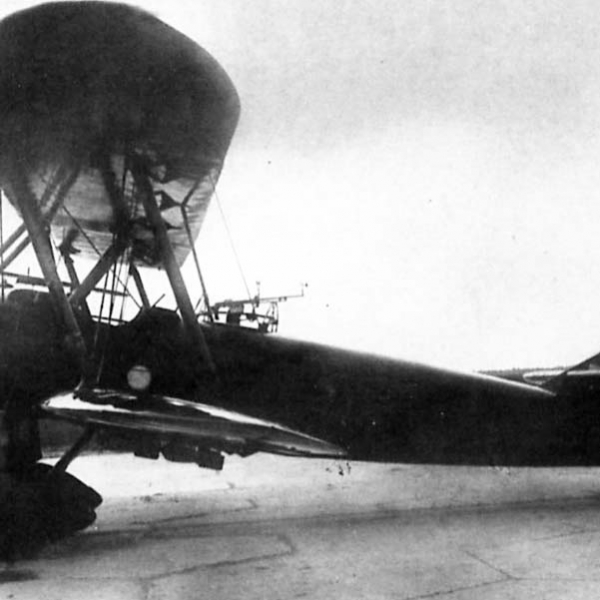 2.У-3 на испытаниях в НИИ ВВС.