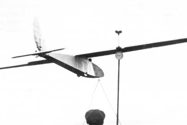 2.Взлет планера АВФ-21.