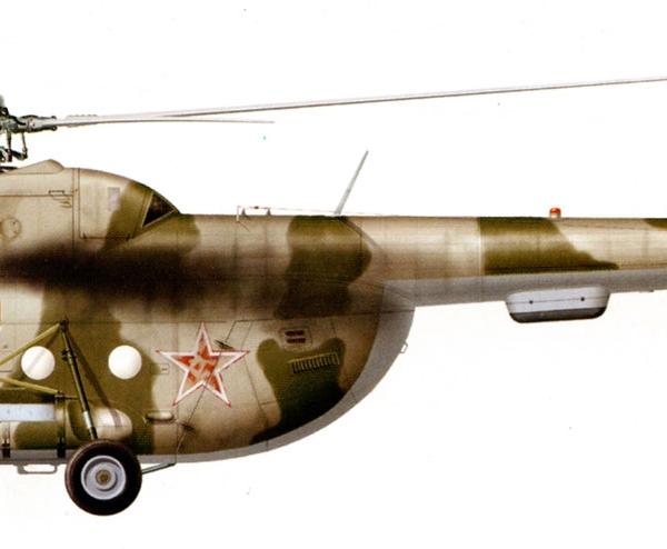 24.Ми-8ТВ авиации Северного флота. Рисунок.
