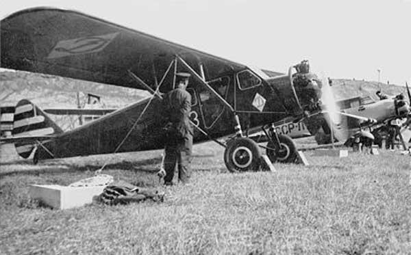 24а.АИР-6 спортклуба Динамо. Харьков. 1936 г.