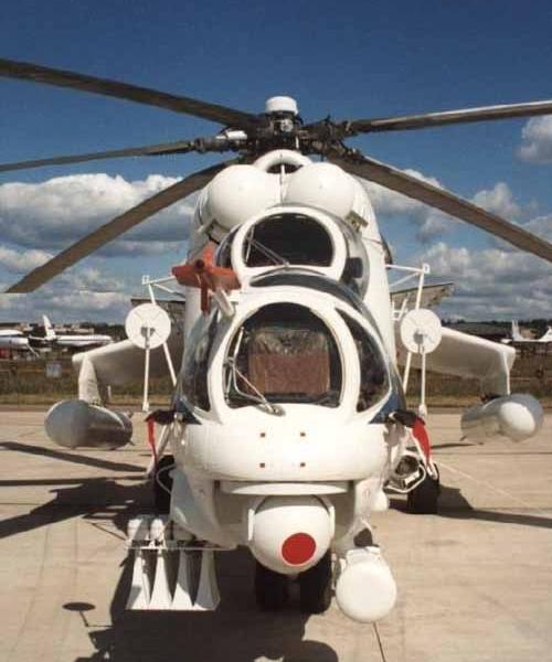 2а.Ми-24ПС. Вид спереди.