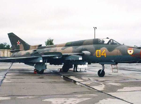 2а.Су-17М4 на стоянке.