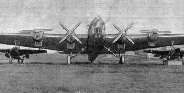 2а.ТБ-3 с подвешенными ПСН-1.
