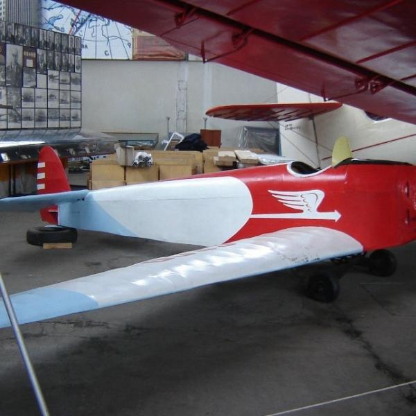 3.Авиетка С-4 Буревестник. Музей ВВС Монино. 30 августа 2008 г.