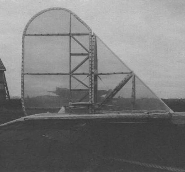 3.Хвостовое оперение самолета ПС. Серпухов. Июль 1935 г.