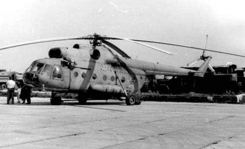 3.Ми-8Т первой серии. 2