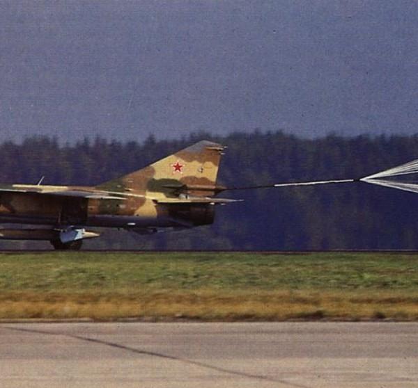 3.МиГ-23С на пробеге.