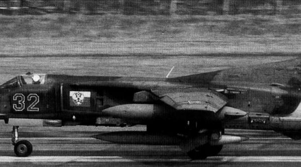 3.МиГ-27Д на взлете.