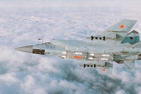 3.Опытный МиГ-31Б