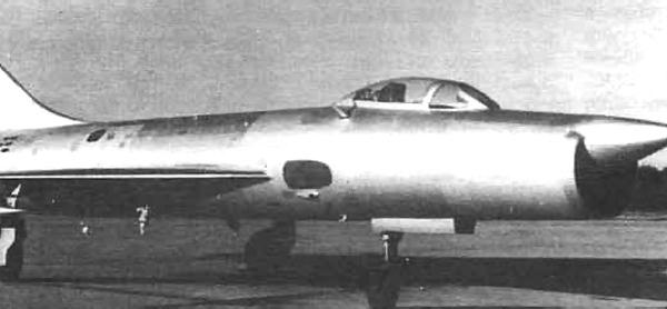 3.Опытный перехватчик Т-3.