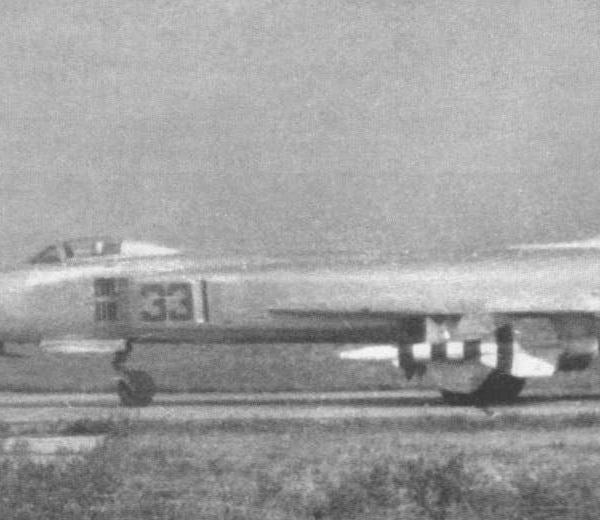 3.Опытный перехватчик Т-58Д-3