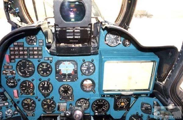 3.Приборная панель пилота.