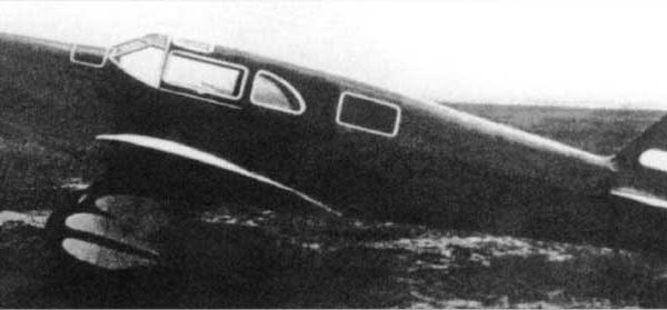 4.АИР-11. Москва, Центральный аэродром. 1936 г. 2