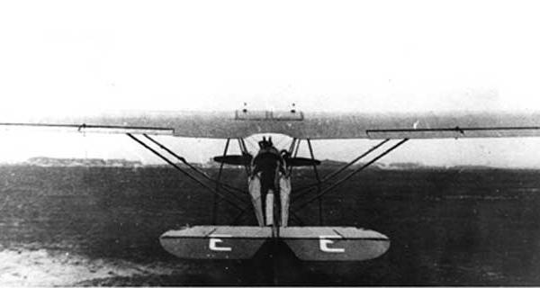 4.АИР-8. Москва, Центральный аэродром. 1934 г. 4