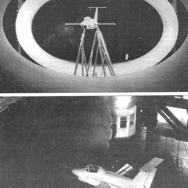 4.Фотон в аэродинамической трубе ЦАГИ Т-101.