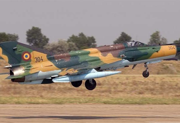 4.МиГ-21М ВВС Румынии.