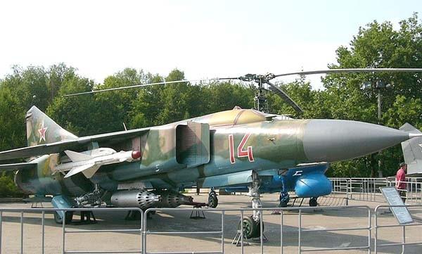 4.МиГ-23М на Поклонной горе.