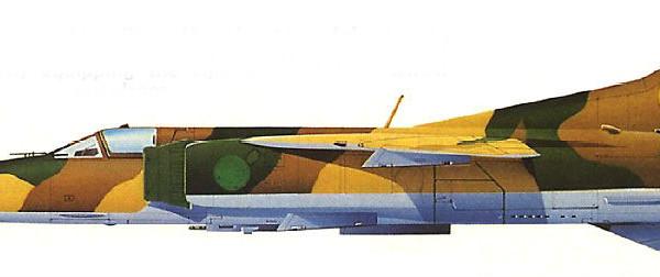 4.МиГ-23МC ВВС Ливии. Рисунок.