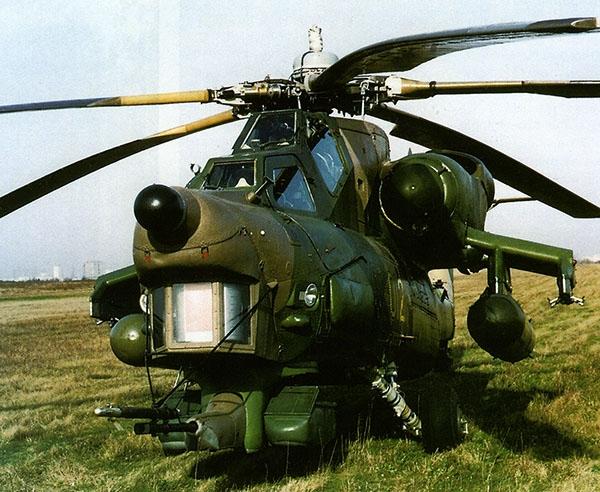 4.Первый опытный Ми-28А.