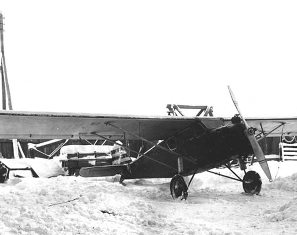 4.Первый опытный экземпляр АИР-6. 1932 г. 3