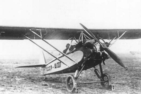 4.Самолёт ЛК-4-III в варианте парасоля.