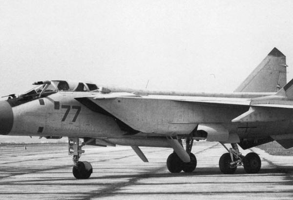 4.Серийный МиГ-31Б.