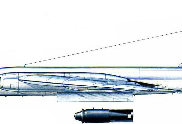 4.Ту-16А. Рисунок.