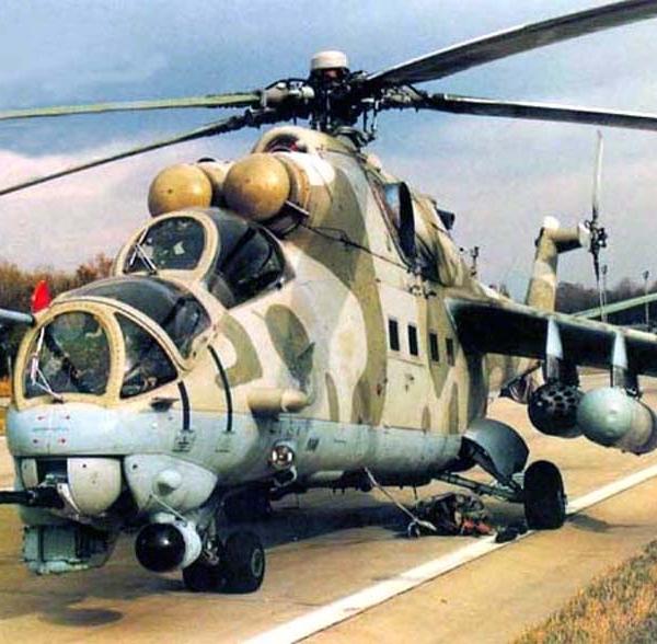 4.Вертолет Ми-24Д.