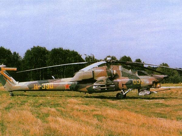 4а.Первый опытный Ми-28А.