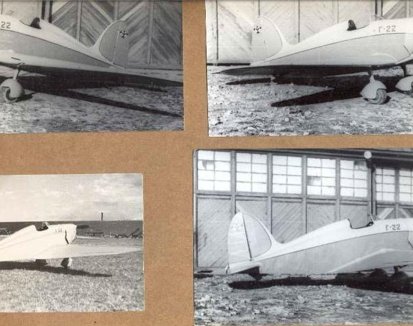 5.Легкий самолет Г-22.