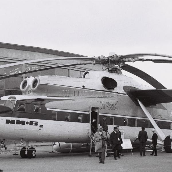 5.Ми-6П на авиасалоне.