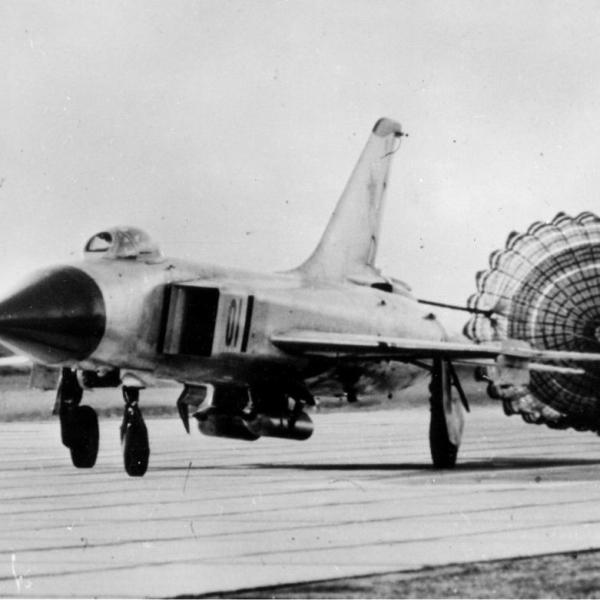 5.Су-15Т на пробеге.