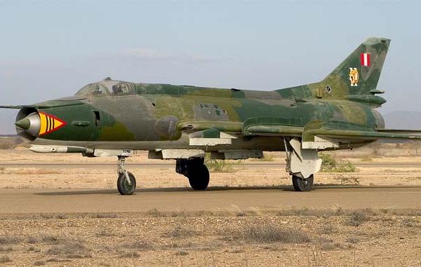 5.Су-20 ВВС Перу.