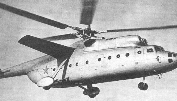 5.Второй Ми-6 в полете.