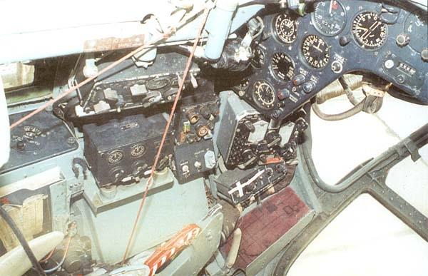 6.Кабина штурмана Як-28ПП.
