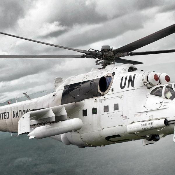 6.Ми-24П из войск. континг. ООН.