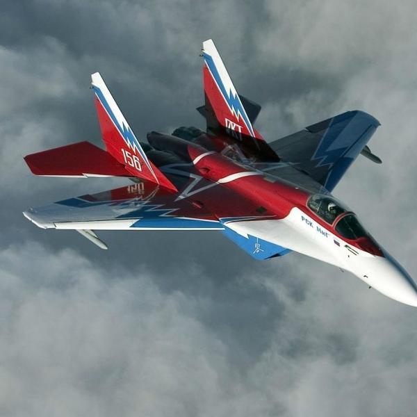 6.МиГ-29М № 156 в новой раскраске.