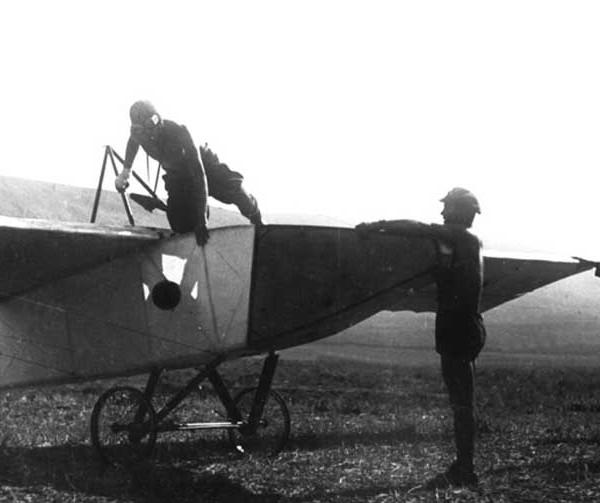 6.Планер АВФ-20. IV ВПС. Коктебель. Сентябрь 1927 г.